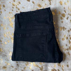 FRAME // Black Denim Jeans